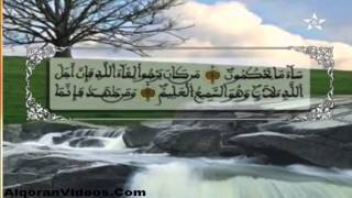 HD المصحف المرتل الحزب 40 للمقرئ محمد إراوي
