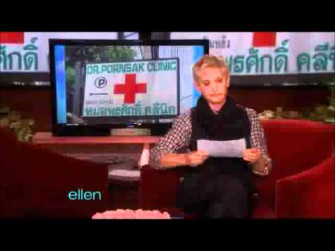 "Ellen's ""what's wrong with these photos? photos"" segment, compilation."