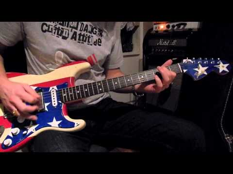 Fender Wayne Kramer signature stratocaster - quick sound samples