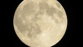 July 2014 Full Moon ~ Supermoon ~ Trying out my new Camera