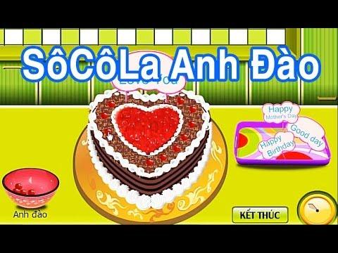 Bánh socola Anh Đào [game.24h.com.vn]