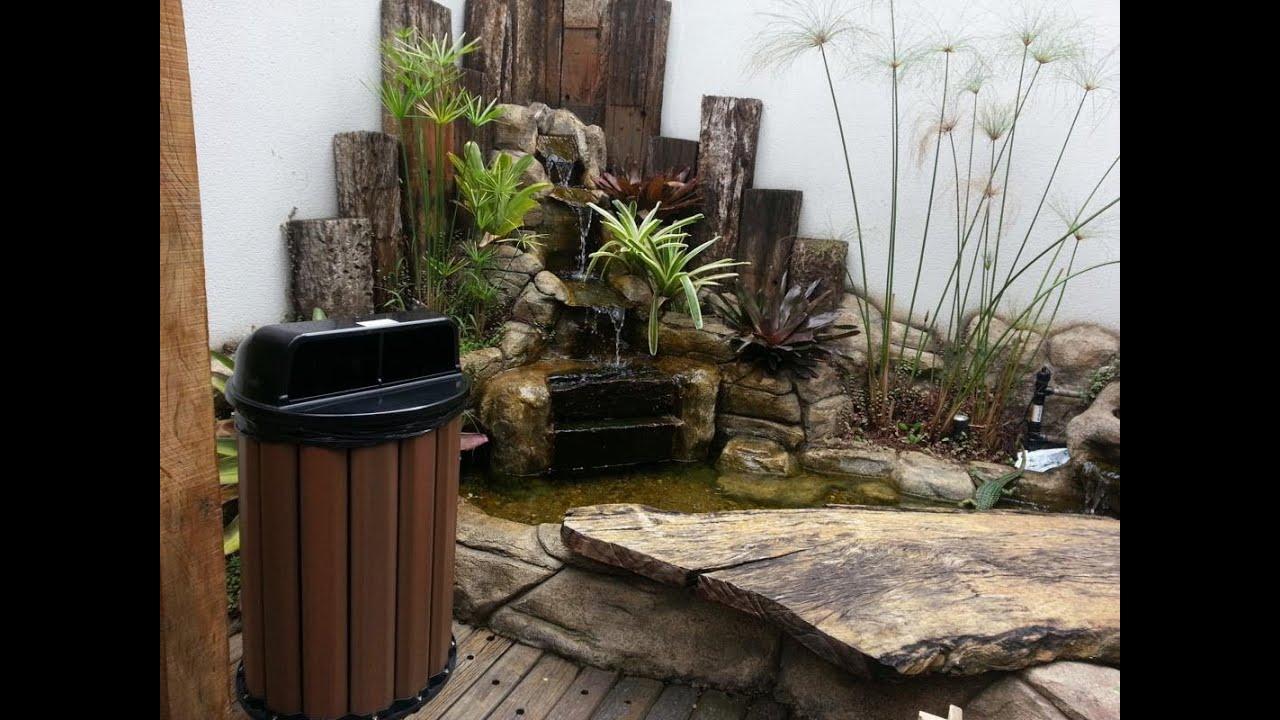 lixeira ecomadeira lixeira de madeira plastica reciclada lixeira  #4E5E28 1067x800