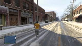 GTA Online: How to Find the Snowy City in the Sky
