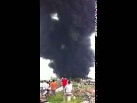 Cháy lớn ở KCN Đại Đồng - Hoàn Sơn ( Tiên Du - Bắc Ninh )
