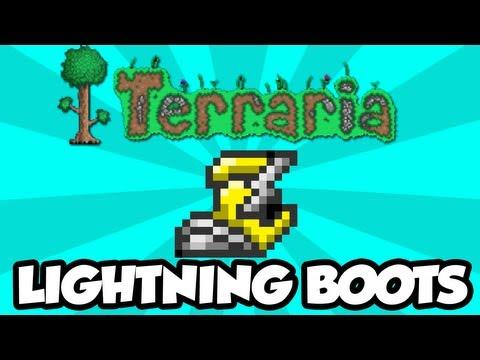 Terraria 1.2 - Lightning Boots (New Terraria 1.2 Items)