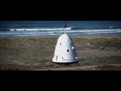 SpaceX Conducts a Dragon Capsule Parachute Test | NASA Space Science HD