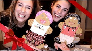 Turning People Into Gingerbread Cookies w/ Kelsey Kreppel
