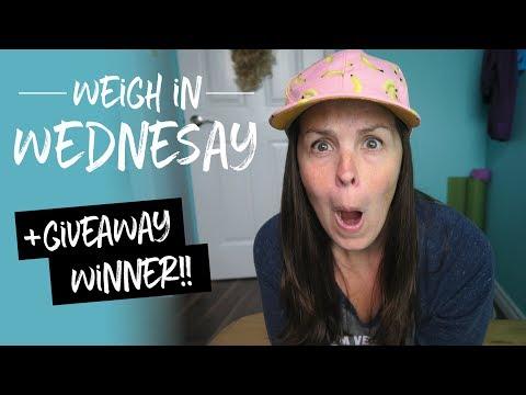 Weigh in Wednesday + Potato Squad Shirt WINNER!!