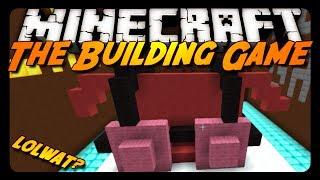 Minecraft: SO MUCH WAT?! - The Building Game #2! w/ Friends!