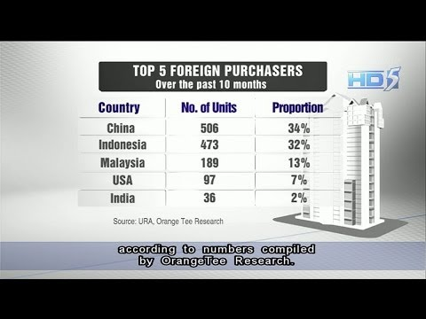 Mainland Chinese top foreign buyers of private property in Singapore - 04Nov2013