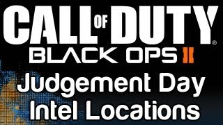 Call Of Duty: Black Ops 2: Judgement Day Intel Locations Guide