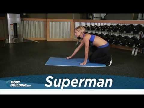 Superman - Back Exercise - Bodybuilding.com