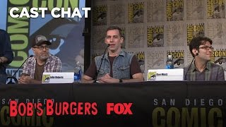 San Diego Comic-Con: Bob's Burgers Cast Impressions
