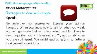 Anger Management Personality Development Skills Part 8