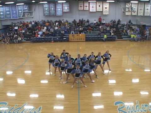 Moore County Cheerleaders 2009-2010