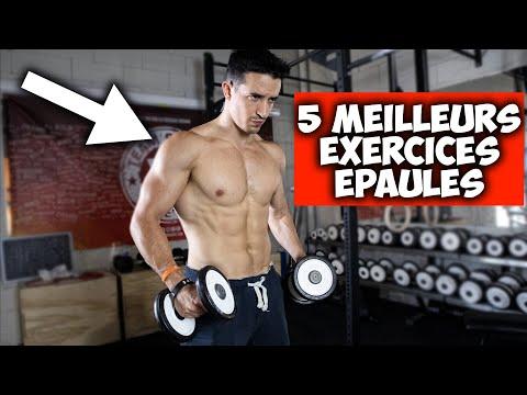 5 meilleurs exercices épaules !