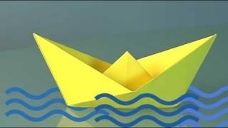 קיפולי נייר סירה