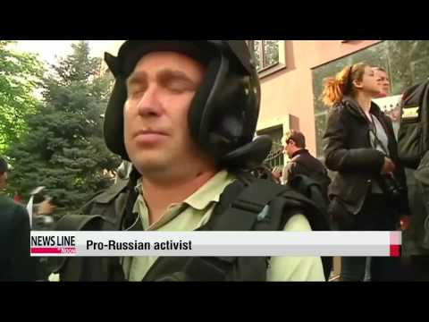 Pro-Russian activists seize prosecutor's office in Donetsk