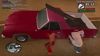 GTA San Andreas Multiplayer Poděkování Za 100