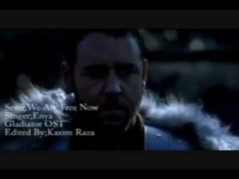 Gladiator (OST)- now we are free- english lyrics