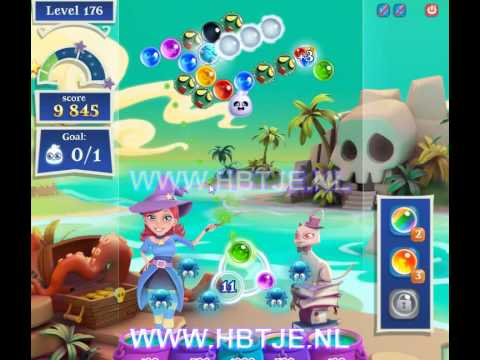Bubble Witch Saga 2 level 176