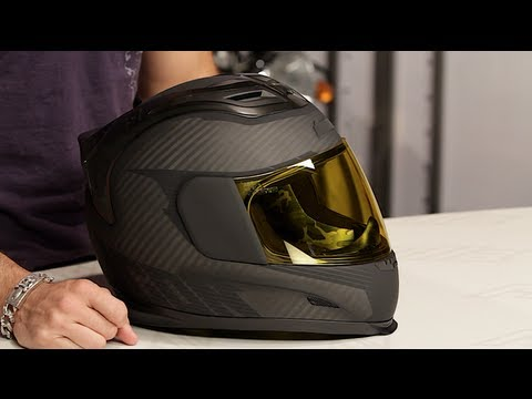 Icon Airframe Ghost Carbon Helmet Review At Revzilla Com