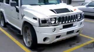 Modified Hummer H2 videos