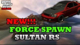 GTA 5 Online: How To Force Spawn The Rare Sultan RS BEST