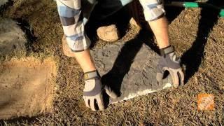 Como hacer sendero con piedras