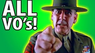 New COD Ghosts Drill Instructor ALL Voice Commands! COD