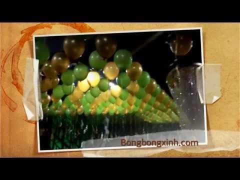 0909084174 Trang trí bong bóng bay thả trần cho quán Bar MZ đường Bùi Thị Xuân Quận 1