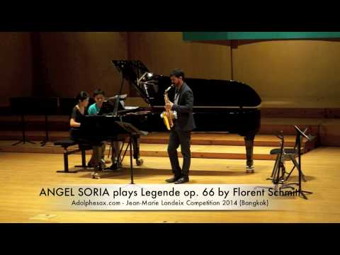 ANGEL SORIA plays Legende op 66 by Florent Schmitt