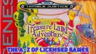 McDonald's Treasure Land Adventure Review - Sega Mega Drive/Genesis - Kimble Justice