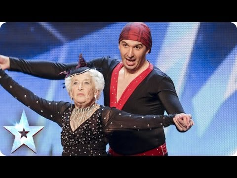 Spectacular Salsa - Paddy & Nico - Electric Ballroom | Britain's Got Talent 2014