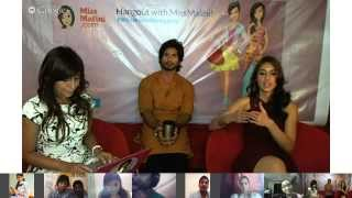 Hangout with Shahid and Ileana