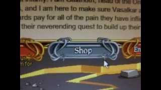 Como desbloquear um shop AQW