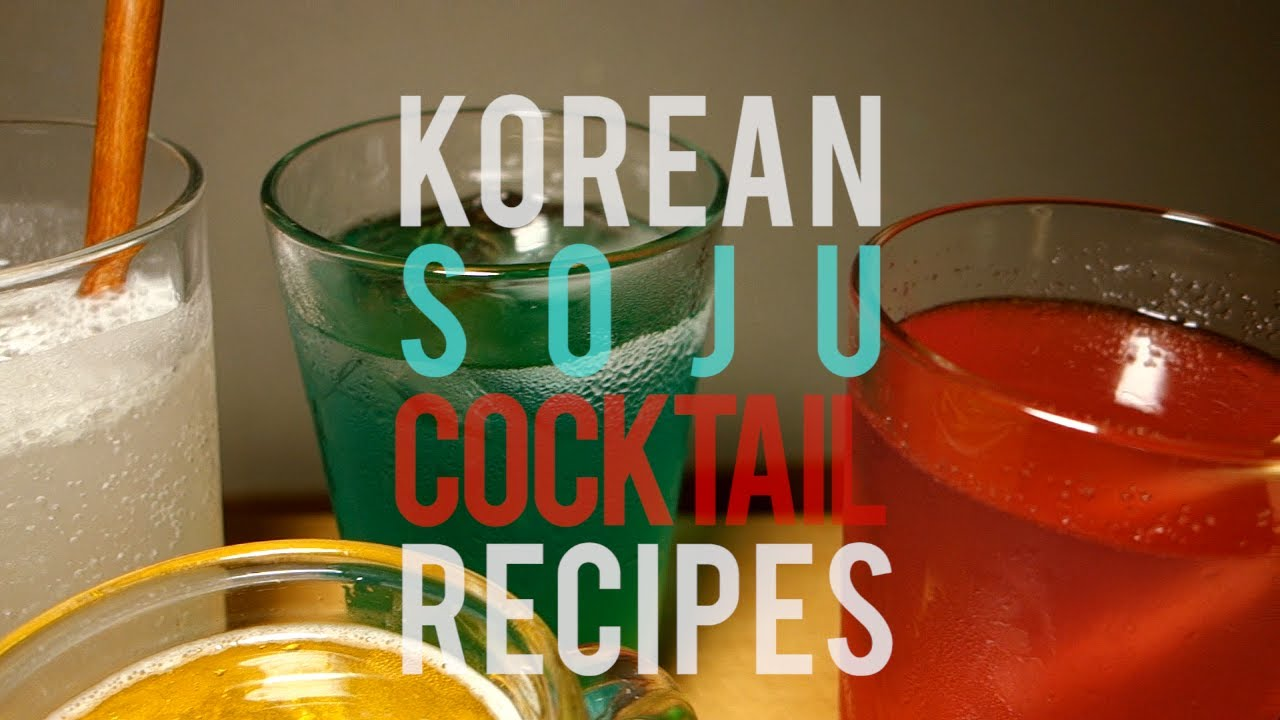 Drink Soju Straight Or Mixed