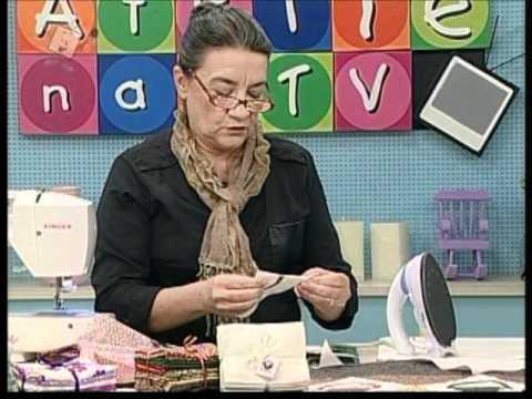 Ateliê na Tv - 13-04-12 - Eliana Zerbinatti - Panô com pequenas Cestas