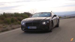2019 Bentley Continental GT Testing in South Africa -- /INSIDE BENTLEY. Drive Youtube Channel.