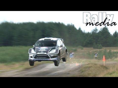 WRC Wales Rally GB 2012 (HD - pure sound)