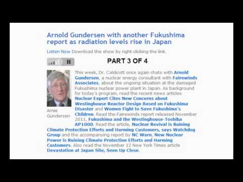 Epic Fukushima interview w/ Arnie Gundersen & Helen Caldicott (full video)