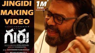 Jingidi Song Making – Guru Telugu Movie