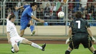 Highlights: Bielorussia-Italia 1-4 (7 settembre 2005)