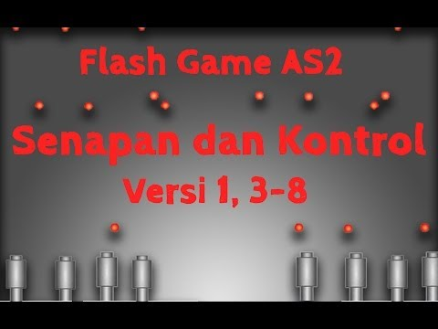 Membuat Game Flash Actionscript 2, 3, Senapan dan Kontrol, Memberi Kiri Senapan