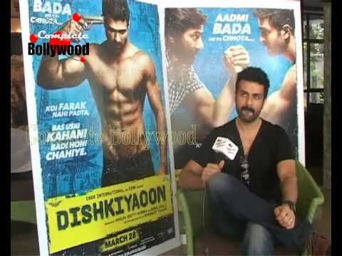 Harman Baweja's exclusive interview for his upcoming film 'Dishkiyaoon'