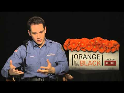 ▶ Matt McGorry's Official 'Orange is the New Black Interview   Celebs com   YouTube 720p