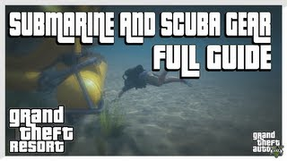 GTA 5 How To Get The Submarine And Scuba Gear FULL GUIDE