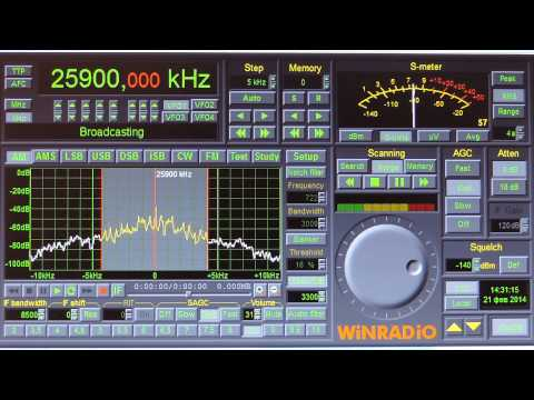 Moscow Technical University Student Station 25900 kHz