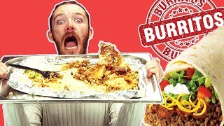 Irish People Try The 5lb Burrito Challenge