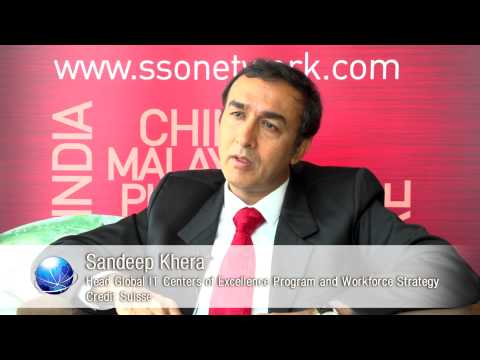 Credit Suisse Sandeep Khera Shares Insights on Shared Services and Outsourcing in Asia